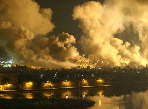 Bombardeo sobre Irak